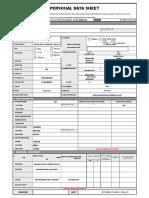 1 PDS Form
