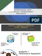 PERFORMANCE AND PORTFOLIO ASSESSMENT METHODS.pptx
