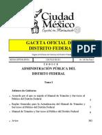 Manual de Tramites de Cdmx
