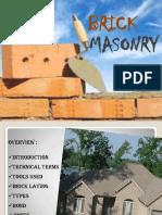Brick Masonary More Details