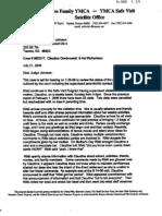 2006 July 21 Letter to Judge Johnson - Safe Visit