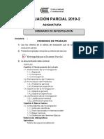 Consigna de Trabajo Rúbrica Seminario Investigación 2019-2