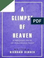 A Glimpse of Heaven - Richard Sibbes