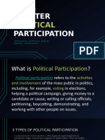 Greater Political Participation