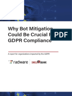 Why Bot Mitigation Could Be Crucial -For GDPR Compliance
