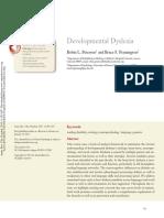 2015, AnnRevCliPsy, Peterson, Dev Dyslexia