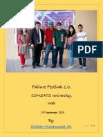 Failure Festival 1.0 Wah