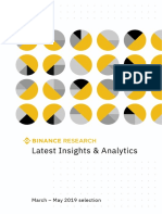 Binance Research Latest Insights and Analytics (3.2019 5.2019)