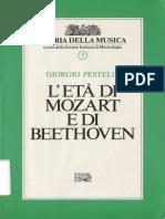 Stampato Storia Della Musica Vol. 7 - Giorgio Pestelli - Letà Di Mozart e Di Beethoven