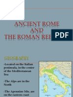Overview of Rome PowerPoint
