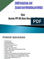 Konsep Dasar HAIs Dan Program PPI NEW