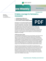 ABN AMRO Macro Weekly – It Takes Courage to Forecast a Recession,[Oct 4,2019]
