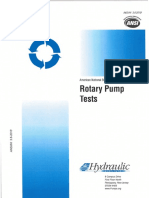 Rotary Pump Tests