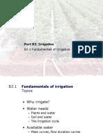 Irrigation engineering innovative teaching method