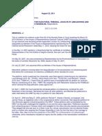 Vilando v. HRET, G.R. Nos. 192147 & 192149, August 23, 2011.Full Text