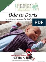 Ode to Doris PDF