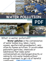Water Pollution Lecture