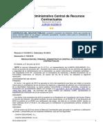 TACRC 709-2019. Principio Contra Proferentem