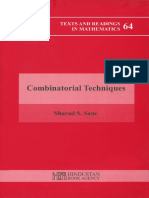 Combinatorial Techniques Sharad S. Sane