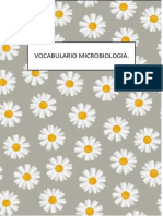 VOCABULARIO MICROBIOLOGIA