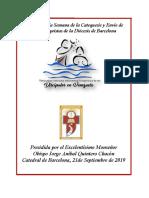 1 Misa Apertura de La Semana de La Catequesis y Envío de Catequistas de La Diócesis de Barcelona 2019