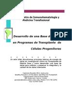 Manejo de una Base de Datos en Programas de TMO.doc