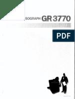GR 3770 User Guide