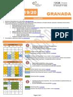 Granada Calendario