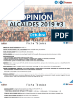 OPINIÓN ALCALDES 2019 - Encuesta Invamer