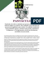 SIMBOLISMO MÁGICO - PANTÁCULO & PENTÁCULO
