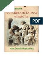Antiquitatis latinae analecta