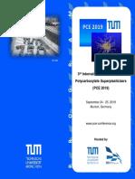 PCE 2019 Program Final
