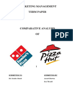 Pizza Hut and Dominos
