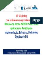 03-Workshop_ISO_IEC_17025_-_0_-_Implementacao_-_Estrutura__-_Definicoes_-_Opcoes