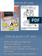 Unit 1 - Ch 1- Intro to Lang, CR, and Argument.ppt