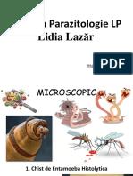 Parazitologie LP Lidia Lazar