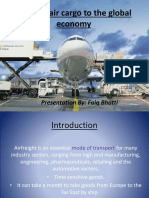 Value of Air Cargo to the Global Economy