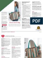 LW5926 Flame Stitch Bag Free Crochet Pattern