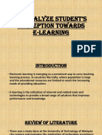 E learning research