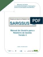 SARGSUS - Manual do Usuário