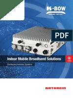 KBOW Indoor Mobile Broadband Solutions 2017