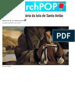 A Verdadeira História Da Luta de Santo Antão Contra o Demônio _ ChurchPOP Português