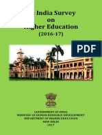 AISHE Final Report 2016-17