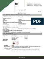 Tetracaine USP SDS