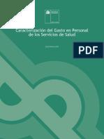 Caracterización del Gasto en Personalde los Servicios de Salud