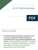 02 01 Introdução à Macroeconomia