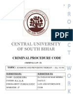 Law of Crime-Summons under Indian Criminal Procedure Code
