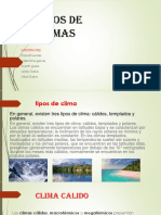 TIPOS DE CLIMA  sociales vale 6.pptx