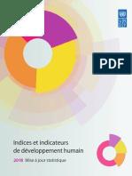 Indices et indicateurs de développement humain