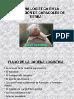 CADENA LOGISTICA EN LA EXPORTACIÓN DE CARACOLES